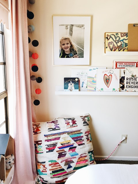 Big Girl Room Makeover- Sources and Budget