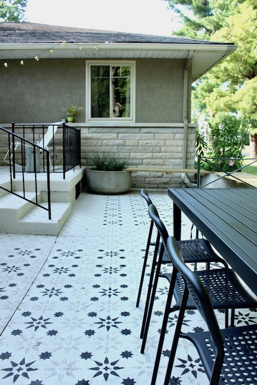 The Side Patio Reveal